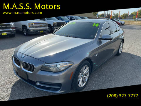 2014 BMW 5 Series for sale at M.A.S.S. Motors - MASS MOTORS in Boise ID