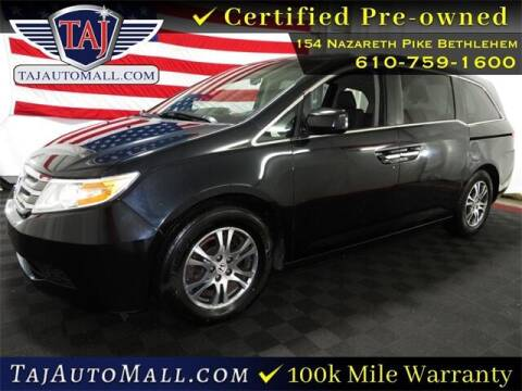 2012 Honda Odyssey for sale at Taj Auto Mall in Bethlehem PA
