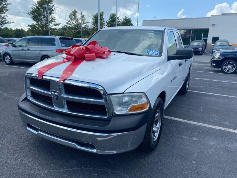 2011 RAM Ram Pickup 1500 for sale at Charlotte Auto Group, Inc in Monroe NC