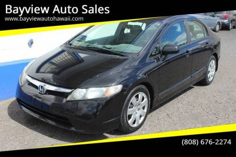 2009 Honda Civic for sale at Bayview Auto Sales in Waipahu HI