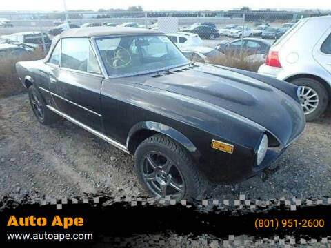 1980 FIAT 124 Spider for sale at Auto Ape in Salt Lake City UT