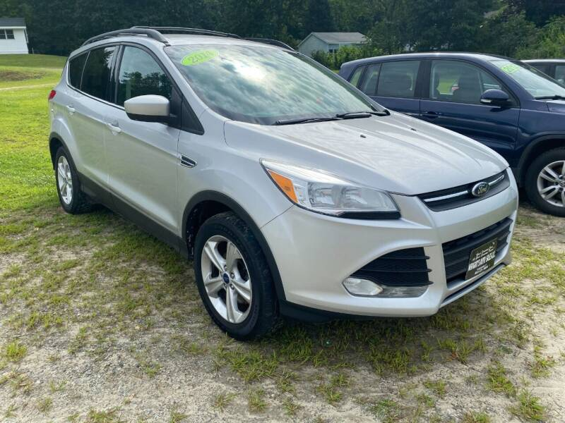 2014 Ford Escape for sale at Wright's Auto Sales LLC in Townshend VT