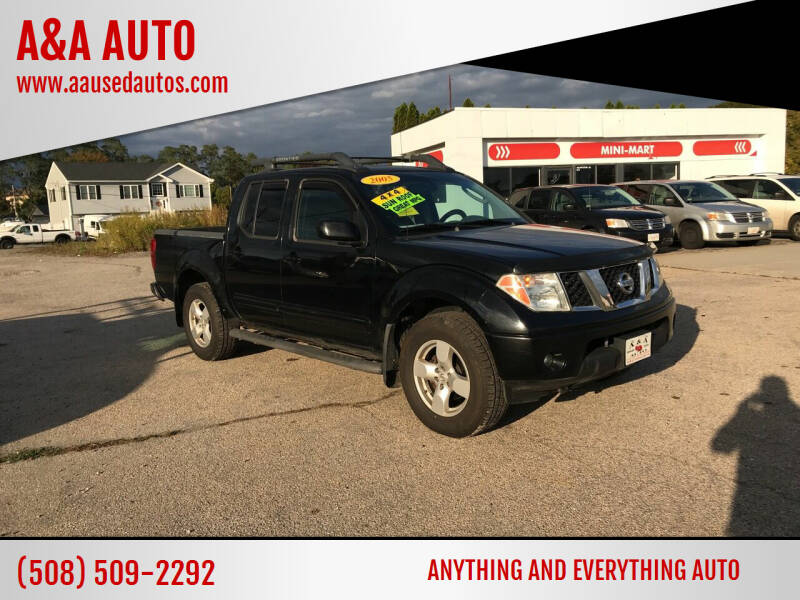 2005 Nissan Frontier for sale at A&A AUTO in Fairhaven MA