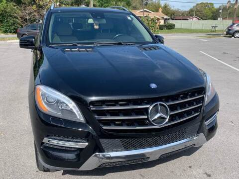 2013 Mercedes-Benz M-Class for sale at Consumer Auto Credit in Tampa FL