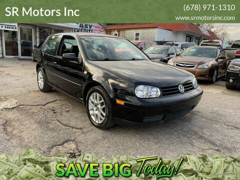 2001 Volkswagen GTI for sale at SR Motors Inc in Gainesville GA