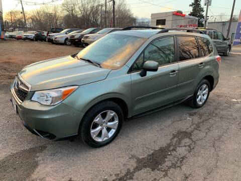 2015 Subaru Forester for sale at Crazy Cars Auto Sale in Jersey City NJ