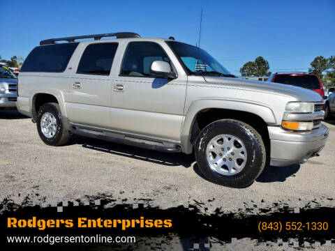 2005 Chevrolet Suburban for sale at Rodgers Enterprises in North Charleston SC