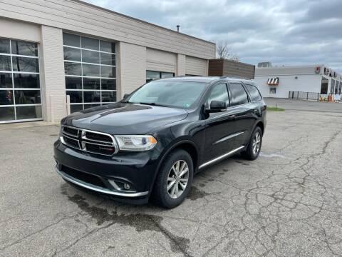 2014 Dodge Durango for sale at Dean's Auto Sales in Flint MI