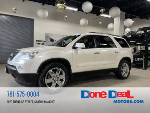 2010 GMC Acadia for sale at DONE DEAL MOTORS in Canton MA