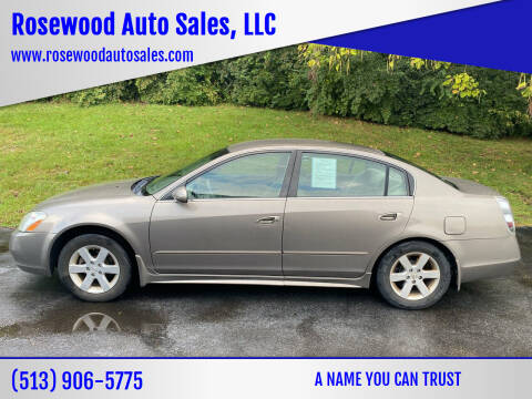 2003 Nissan Altima for sale at Rosewood Auto Sales, LLC in Hamilton OH