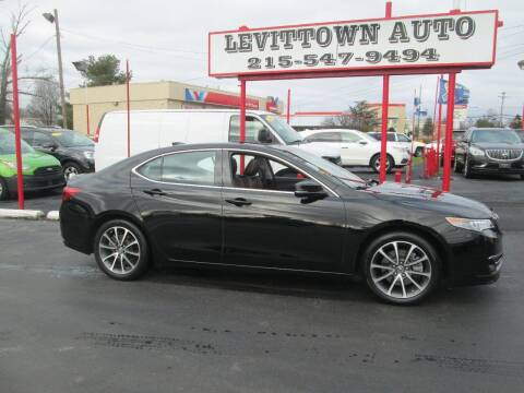2015 Acura TLX for sale at Levittown Auto in Levittown PA