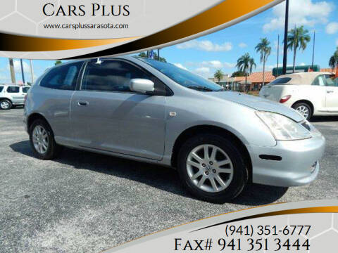 2002 Honda Civic for sale at Cars Plus in Sarasota FL
