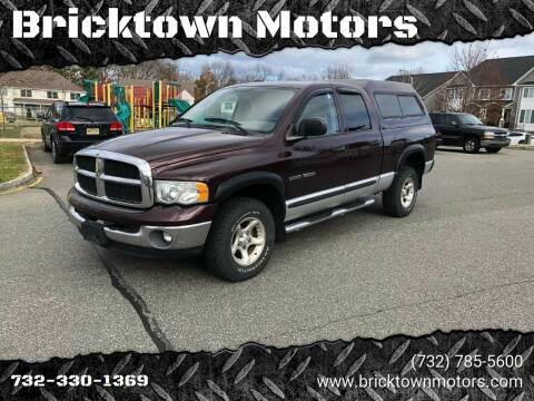 2004 Dodge Ram Pickup 1500 for sale at Bricktown Motors in Brick NJ