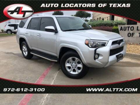 2016 Toyota 4Runner for sale at AUTO LOCATORS OF TEXAS in Plano TX