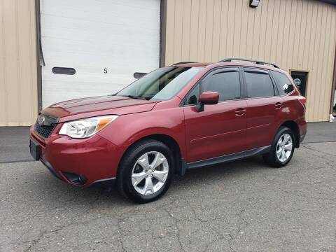 2014 Subaru Forester for sale at Massirio Enterprises in Middletown CT