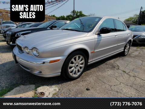 2003 Jaguar X-Type for sale at SAM'S AUTO SALES in Chicago IL