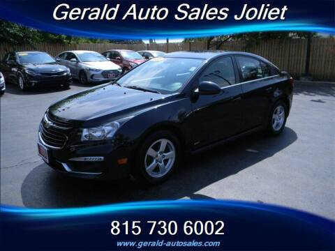 2016 Chevrolet Cruze Limited for sale at Gerald Auto Sales in Joliet IL