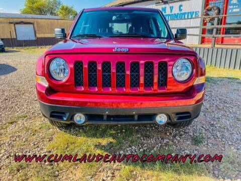 2014 Jeep Patriot for sale at MAGNA CUM LAUDE AUTO COMPANY in Lubbock TX