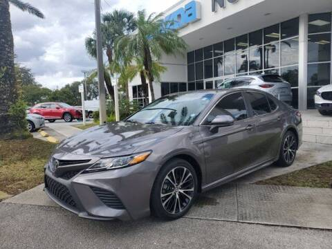 2018 Toyota Camry for sale at Mazda of North Miami in Miami FL