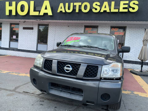 2004 Nissan Titan for sale at HOLA AUTO SALES CHAMBLEE- BUY HERE PAY HERE - in Atlanta GA