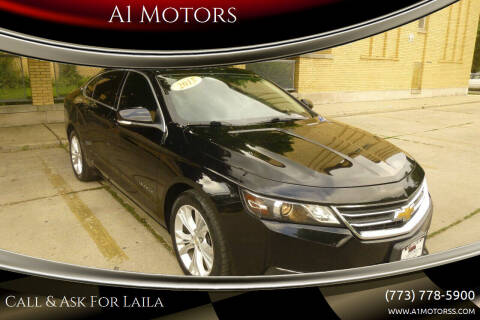 2015 Chevrolet Impala for sale at A1 Motors Inc in Chicago IL