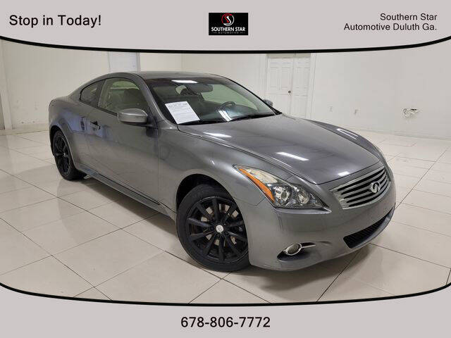 2013 Infiniti G37 Coupe for sale at Southern Star Automotive, Inc. in Duluth GA