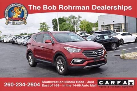 2017 Hyundai Santa Fe Sport for sale at BOB ROHRMAN FORT WAYNE TOYOTA in Fort Wayne IN