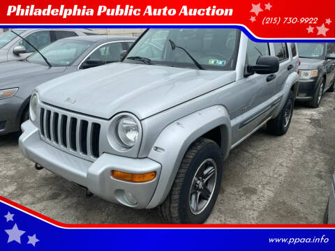2004 Jeep Liberty for sale at Philadelphia Public Auto Auction in Philadelphia PA