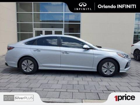 2019 Hyundai Sonata Hybrid for sale at Orlando Infiniti in Orlando FL
