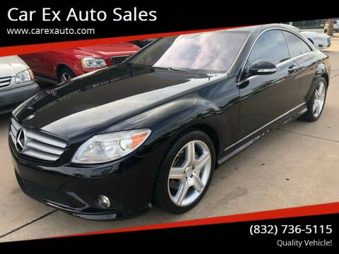2008 Mercedes-Benz CL-Class for sale at Car Ex Auto Sales in Houston TX