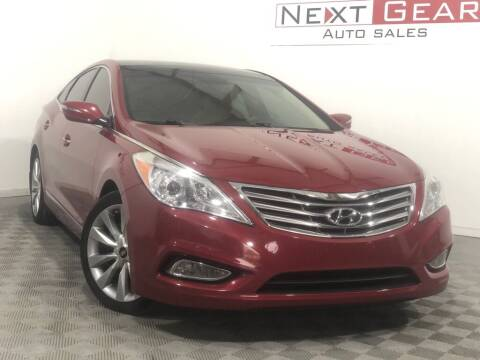 2012 Hyundai Azera for sale at Next Gear Auto Sales in Westfield IN