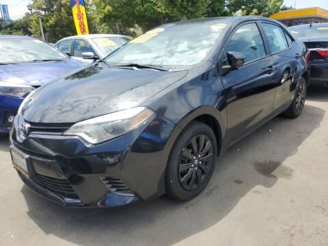 2016 Toyota Corolla for sale at ALL CREDIT AUTO SALES in San Jose CA