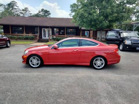 2013 Mercedes-Benz C-Class for sale at Victory Motor Company in Conroe TX