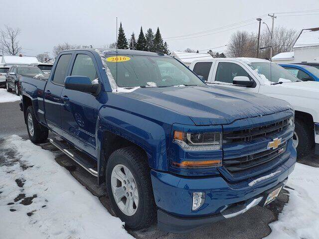 2016 Chevrolet Silverado 1500 for sale at Frenchie's Chevrolet and Selects in Massena NY