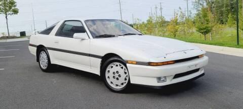 1988 Toyota Supra for sale at BOOST MOTORS LLC in Sterling VA