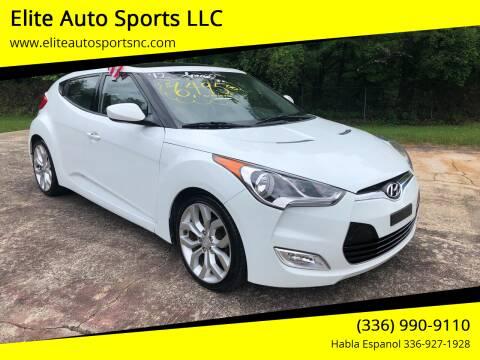 2012 Hyundai Veloster for sale at Elite Auto Sports LLC in Wilkesboro NC