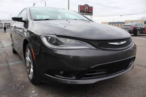 2015 Chrysler 200 for sale at B & B Car Co Inc. in Clinton Twp MI