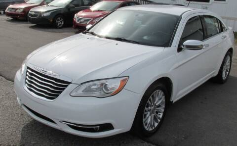 2013 Chrysler 200 for sale at Express Auto Sales in Lexington KY