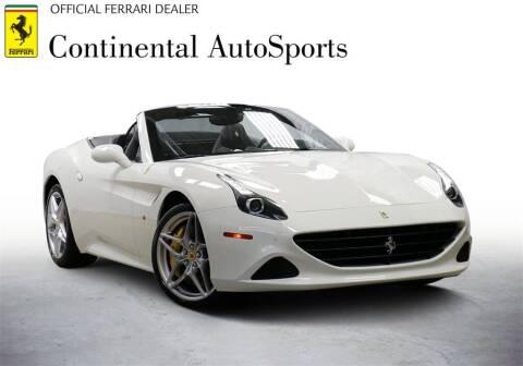 2017 Ferrari California T for sale at CONTINENTAL AUTO SPORTS in Hinsdale IL