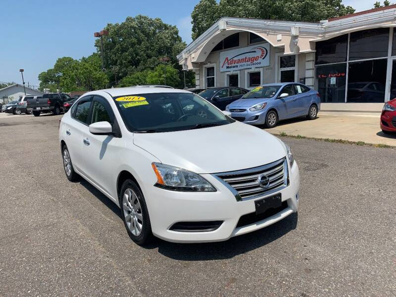 2013 Nissan Sentra for sale at Advantage Motors in Newport News VA