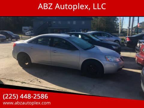 2009 Pontiac G6 for sale at ABZ Autoplex, LLC in Baton Rouge LA