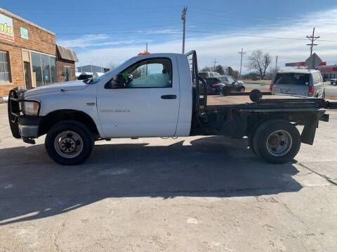 2006 Dodge Ram Chassis 3500 for sale at J & S Auto in Downs KS