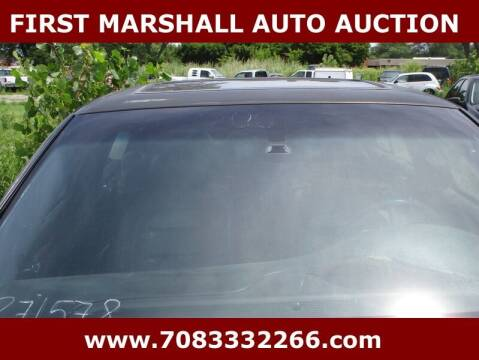 2000 Cadillac DeVille for sale at First Marshall Auto Auction in Harvey IL