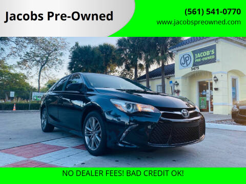 2015 Toyota Camry for sale at Jacobs Pre-Owned in Lake Worth FL