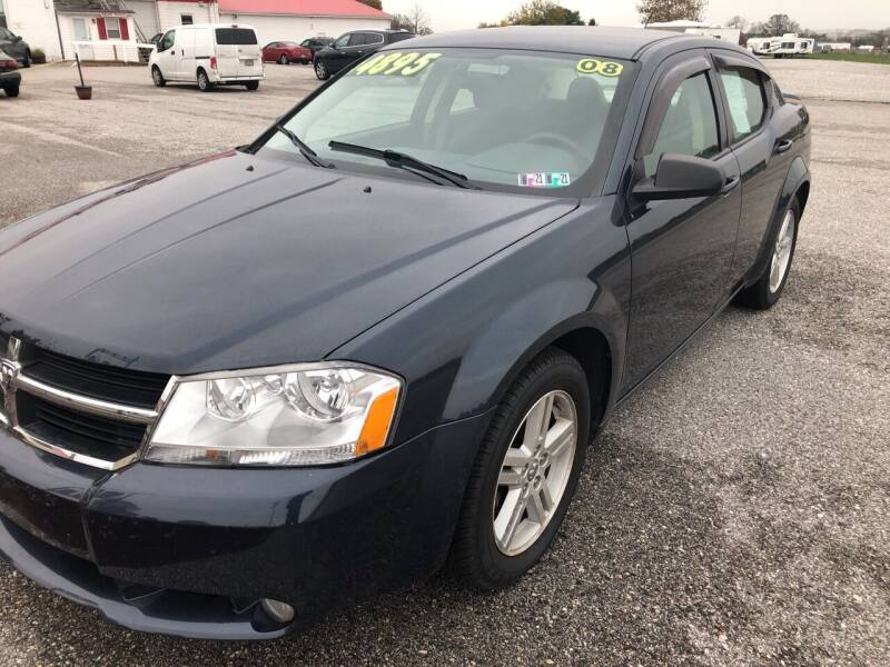 2008 Dodge Avenger for sale at On-Site Auto Sales & Service in York PA