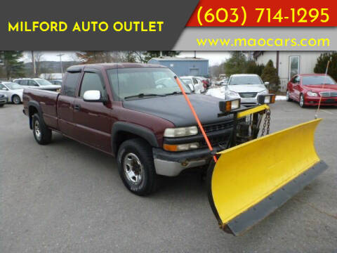 2000 Chevrolet Silverado 2500 for sale at Milford Auto Outlet in Milford NH