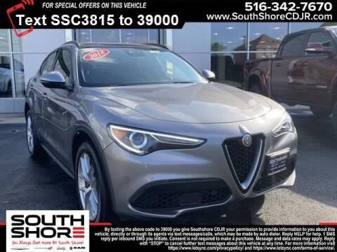 2018 Alfa Romeo Stelvio for sale at South Shore Chrysler Dodge Jeep Ram in Inwood NY