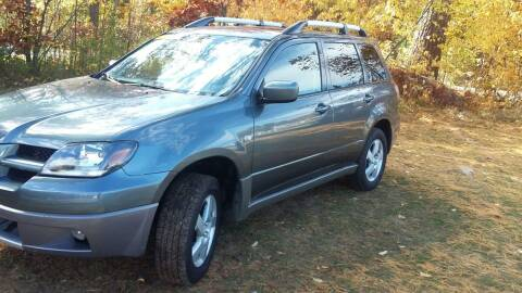 2004 Mitsubishi Outlander for sale at Expressway Auto Auction in Howard City MI