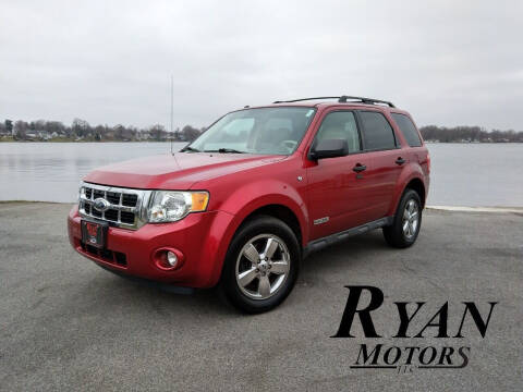 2008 Ford Escape for sale at Ryan Motors LLC in Warsaw IN