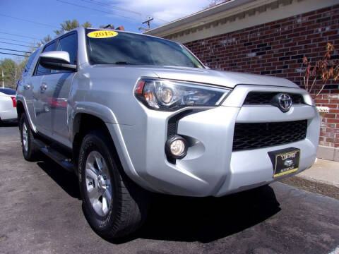 2015 Toyota 4Runner for sale at Certified Motorcars LLC in Franklin NH